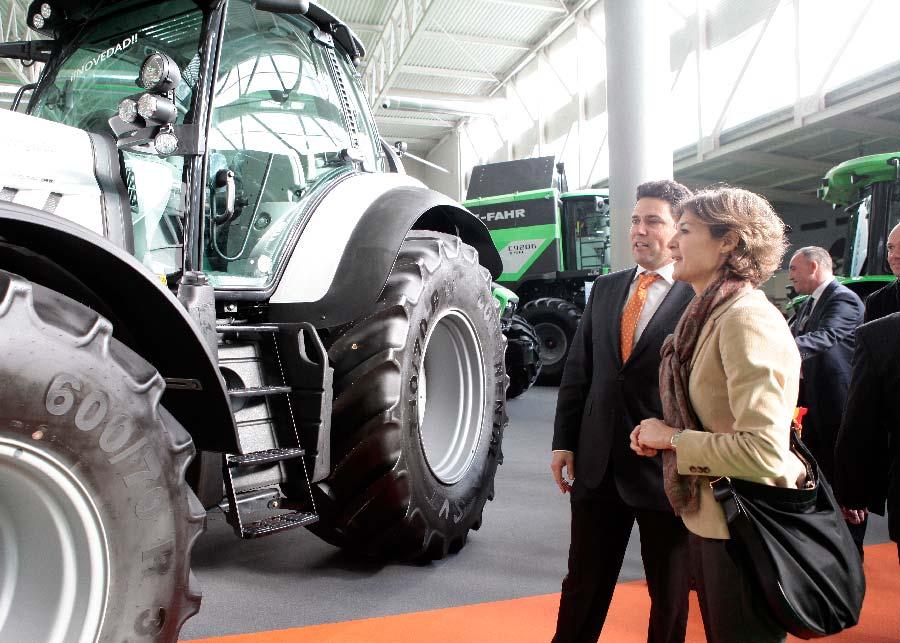 La ministra de Agricultura inauguró Agraria