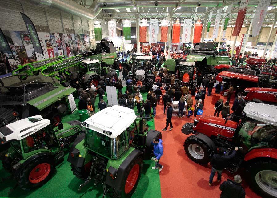 Ocupación plena de la Feria de Valladolid en la cuarta edición de AGRARIA