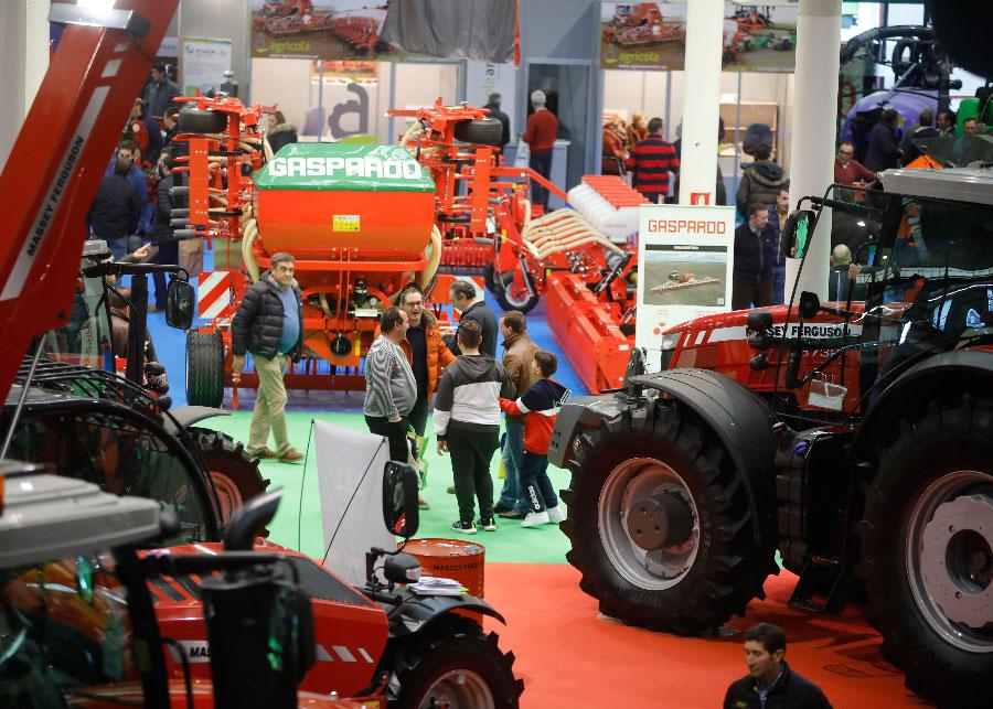 Agraria incorpora nuevos contenidos y aumenta la superficie ocupada