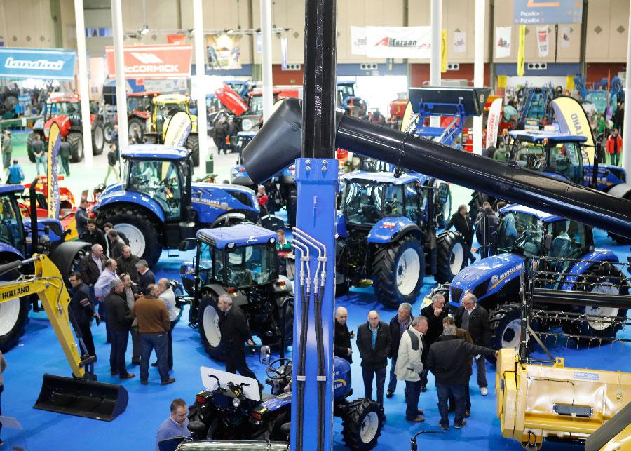 Finaliza la quinta edición de AGRARIA, Feria de maquinaria con más de 30.000 visitantes profesionales
