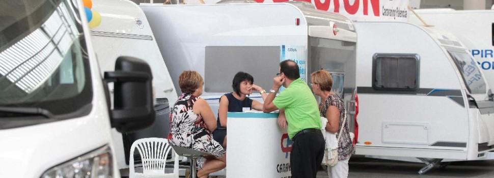 Una completa exposición de caravaning en la Feria de Muestras