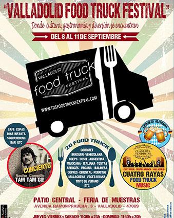 Segunda edición del Valladolid Food Truck Festival