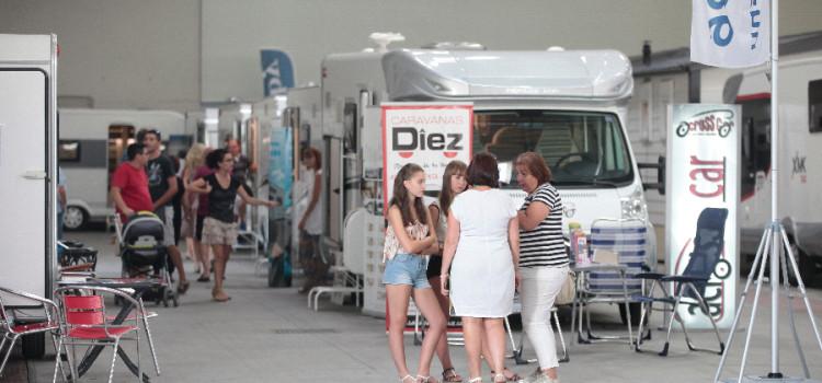 Exposición de caravaning en la Feria de Muestras de Valladolid