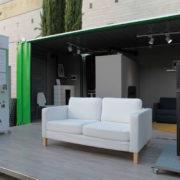 """El roadshow""""Biomasa en tu casa""""en la Feria de Muestras de Valladolid"""