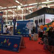 """Juegos infantiles de EDP en la Feria de Muestras: """"Enciende tu imaginación con los cinco sentidos"""""""
