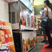 Ice Rolls, helados a la plancha en la 83 Feria de Muestras de Valladolid