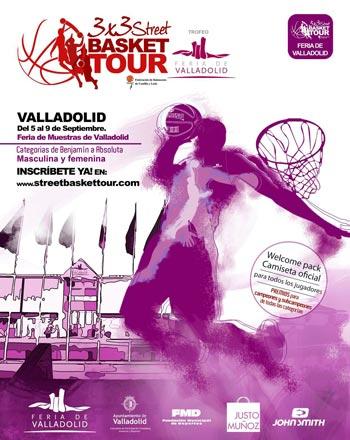 La Feria de Valladolid incorpora el torneo 3×3 Street Basket Tour a la Feria de Muestras