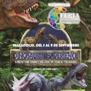 ¡Vive la Dinosauria Experience! Los dinosaurios vuelven a la vida en la Feria de Muestras de Valladolid