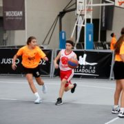 Juegos de Basket, concursos, sorteos y regalos para los más peques en la zona de 3×3 Street Basket Tour