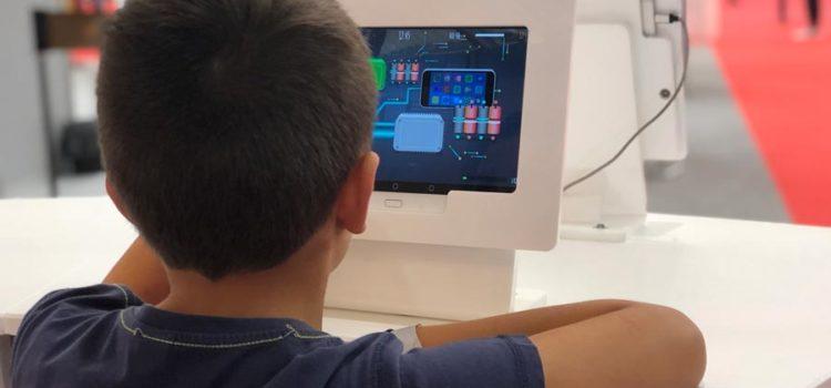 El stand de INCIBE «Tu espacio de ciberseguridad» en la 85 edición Feria de Muestras de Valladolid