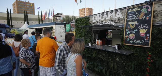 Entretenimiento y actividad comercial en la Feria de Muestras
