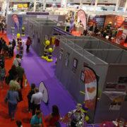 Exposición conmemorativa de los 25 años de la Coordinadora de Peñas de Valladolid en la Feria de Muestras