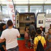 Completa exposición de camping y caravaning en la Feria de Muestras de Valladolid