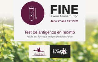 Fine #WineTourismExpo | test de antígenos