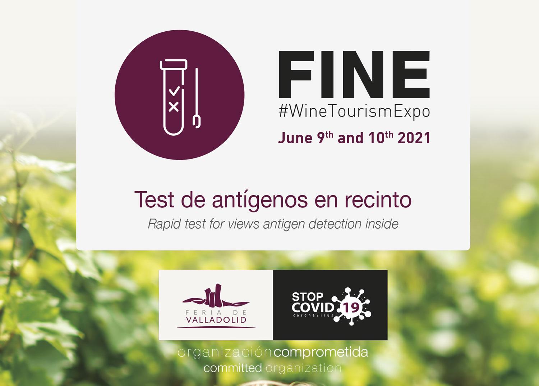 Fine #WineTourismExpo   test de antígenos