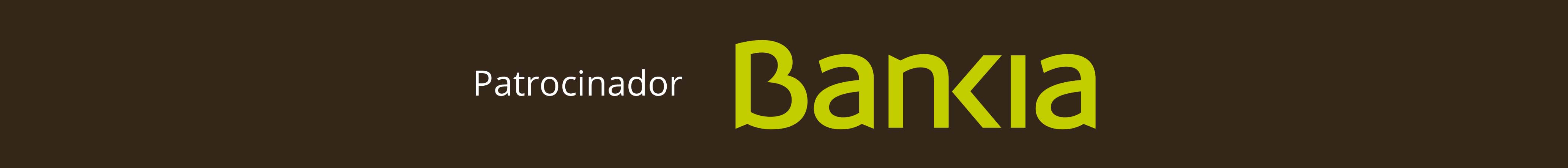 Bankia, patrocinador exclusivo del sector financiero
