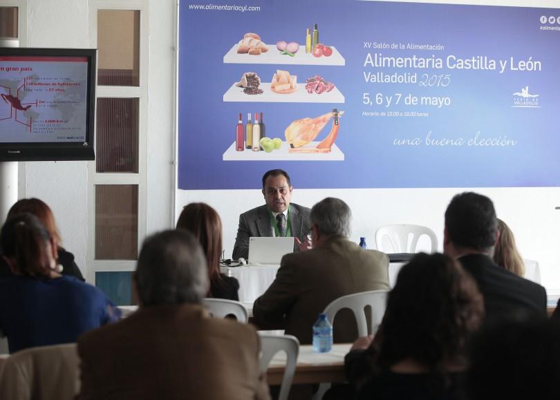 Conferencia de Proméxico sobre oportunidades de negocio para las empresas alimentarias españolas en el país azteca.