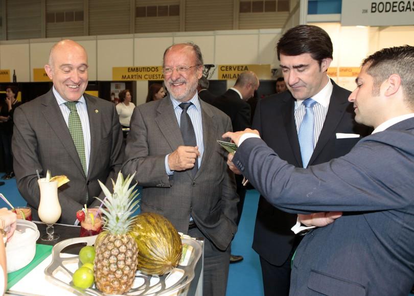 Inauguración de la VX edición de Alimentaria Castilla y León.
