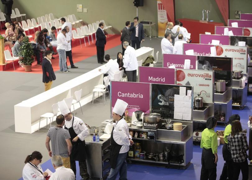 II Certamen Nacional de Gastronomía, categoría de cocinero.