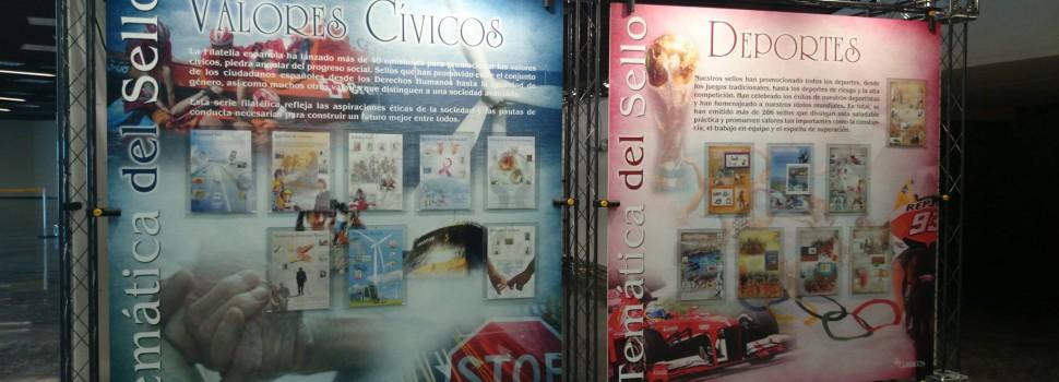 """Exposición """"Otra mirada al sello"""" en la próxima Feria del Coleccionismo"""