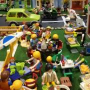 Diversas exposiciones de Barbi, Madelman, Star Wars, Playmobil, Lego en el Salón