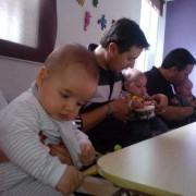 Taller práctico sobre estimulación temprana Impartido por Genius