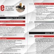 AFE celebra su X congreso en Feria de Valladolid los días 14 y 15 de octubre
