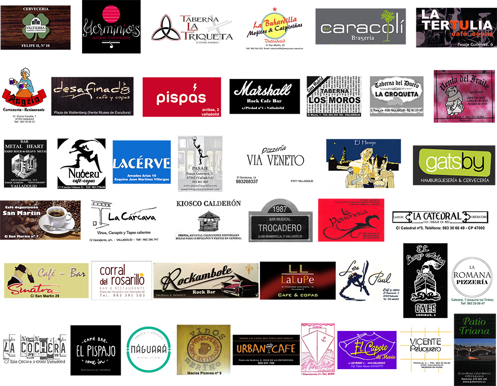 Participantes Feria del Coleccionismo de Vinilo