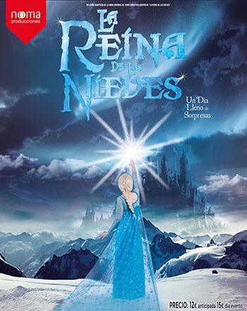 El Musical La Reina de las Nieves llega el 28 de febrero a Feria de Valladolid
