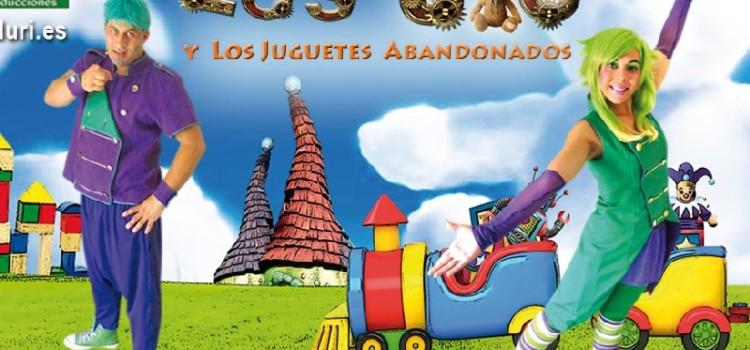 El nuevo espectáculo infantil de Zascanduri «Los JU y los juguetes abandonados» llega a Feria de Valladolid