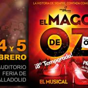 El Mago de Oz, el musical llega a Feria de Valladolid el primer fin de semana de febrero