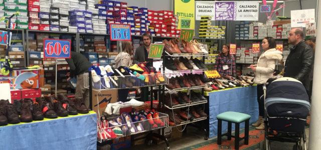 Calzados Delicias repite como expositor en la Feria del Stock