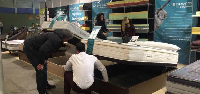 Dormia Natura incorpora colchones a la oferta de productos de la Feria del Stock