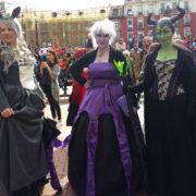 Desfile Cosplay del XI Salón del Cómic y Manga de Castilla y León el Sábado 11 a las 13:30 horas en la Plaza Mayor