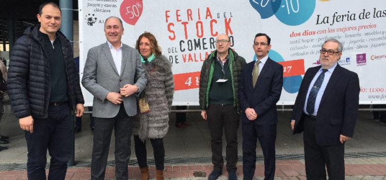 Inaugurada la XIII edición de la Feria del Stock del Comercio de Valladolid