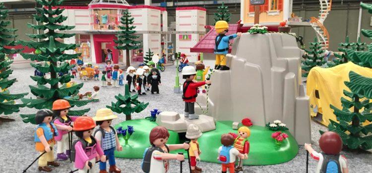Exposición de maquetas de Star Wars, Playmobil, Lego, Barbies, Barriguitas etc…