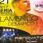 Demarco Flamenco & Renovation Experience en la Feria de Valladolid el próximo 21 de octubre
