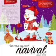 Carrera infantil Navival el próximo 22 de diciembre en la Feria de Valladolid