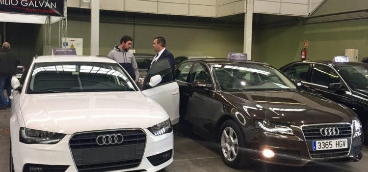 Seis concesionarios participan este fin de semana en la Feria del Vehículo de Ocasión