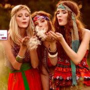 La moda étnica de Hippyssidy volverá a ser una de las propuestas de la Feria del Stock