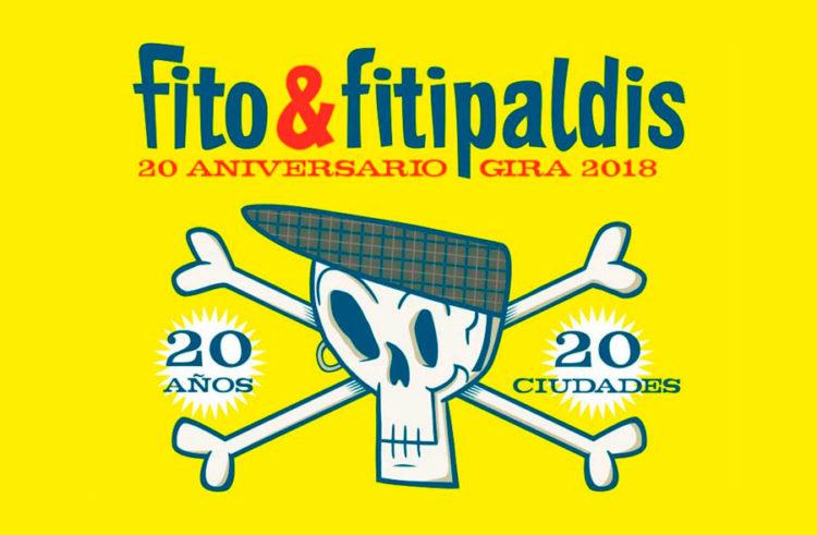 """La gira """"20 años, 20 ciudades"""" de Fito & Fitipaldis hará parada en la Feria de Valladolid en mayo"""