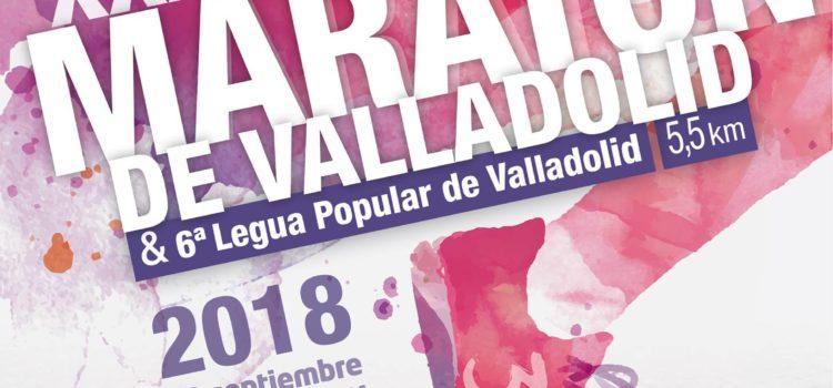Entrega de dorsales para la Media Maratón y Legua Popular Ciudad de Valladolid el próximo 22 de septiembre