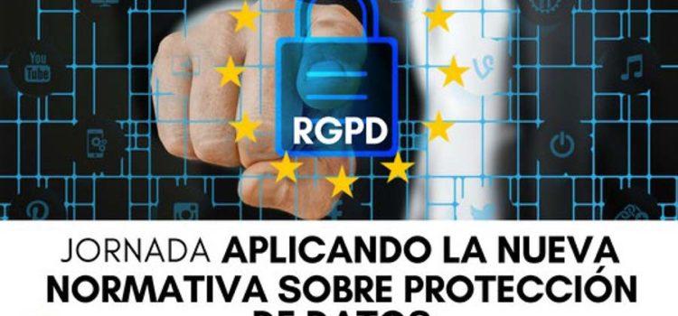 Jornada «Aplicando la nueva normativa sobre la protección de datos» a cargo de La Escuela de Administración Pública de Castilla y León