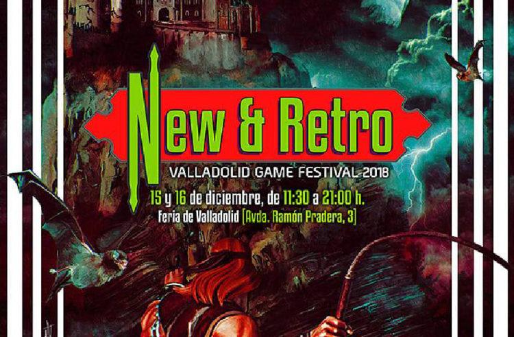 Valladolid Game Festival en la Feria de Valladolid los días 15 y 16 de diciembre