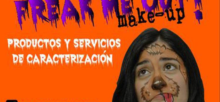 Freak me Out! servicios de maquillaje de caracterización vuelve a la Feria del Stock