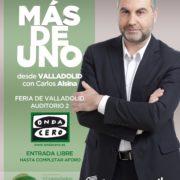 Carlos Alsina retransmitirá desde Feria de Valladolid su programa Más de Uno