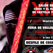 Gran desfile Cosplay en Valladolid con motivo del XIII Salón del cómic y del manga de Castilla y León