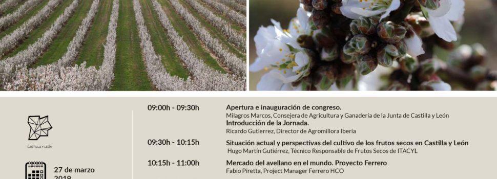 """Feria de Valladolid acogerá el próximo miércoles 27 de marzo la jornada """"El cultivo de frutos secos en Castilla y León: una alternativa real"""""""