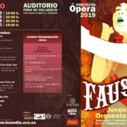 Este domingo 3 de marzo comienzan las representaciones del Proyecto Ópera en la Feria de Valladolid