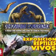 Esta Semana Santa vive la Dinosauria Experience en la Feria de Valladolid